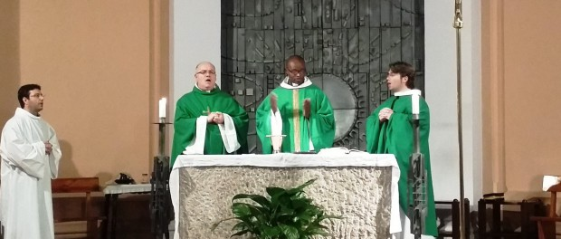 Primera Missa de Mn. Jean de Dieu al SMI