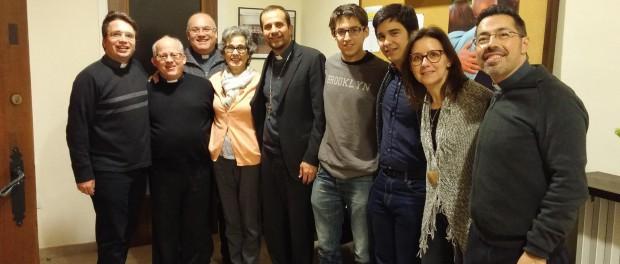 Visita del Consell de Govern del Bisbat de Solsona