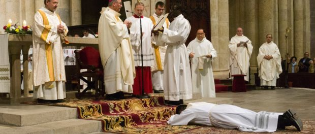 Ordenació presbiteral de Víctor Mosquera Ramos