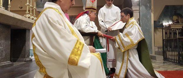 Ordenació diaconal d'Andreu Figueras