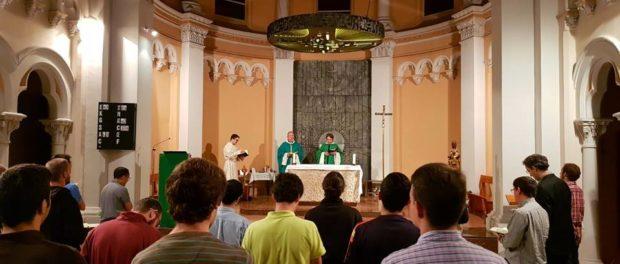 Visita del missioner Mn. Josep Lluís Orpella