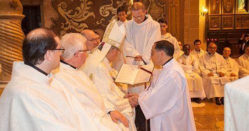 Ordenació diaconal d'Antonio Rodríguez Moreno
